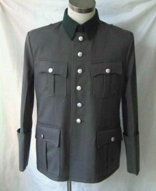WW2 German M36 officer tricot Tunic