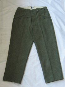 WW2 German M37 Field-grey Wool Trousers