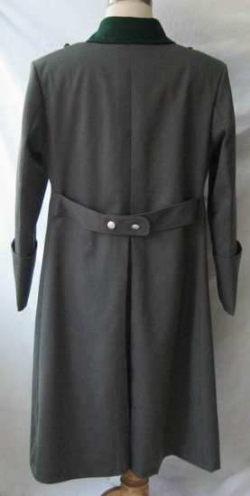 WW2 German Officer Tricot Greatcoat - Click Image to Close