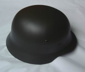 WW2 German M35 Field-grey Helmet